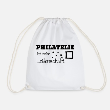 Philatelist Philatéliste Stamp Philatelie Philatelist Stempel - Drawstring Bag