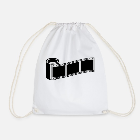 Image Bags & Backpacks - photo_retro_1_f1 - Drawstring Bag white