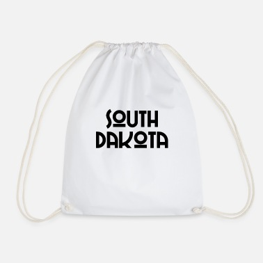 Sioux South Dakota - Pierre - Sioux Falls - US State - Drawstring Bag