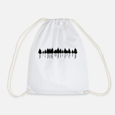 Pine Pine Forest - Drawstring Bag