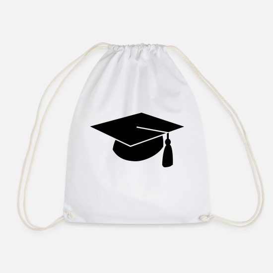 Exam Bags & Backpacks - Diploma - Drawstring Bag white