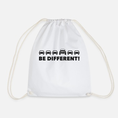 Jk Be Different - JK - Drawstring Bag