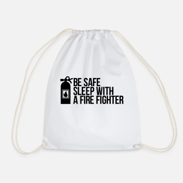 Fire Fighter fire fighter - Drawstring Bag
