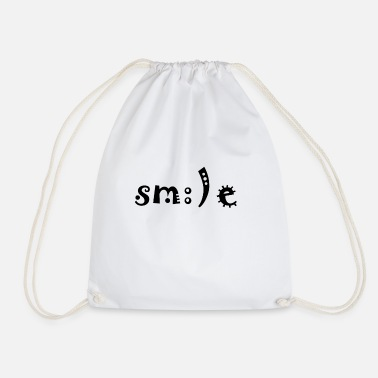 Smile Smile smile - Drawstring Bag