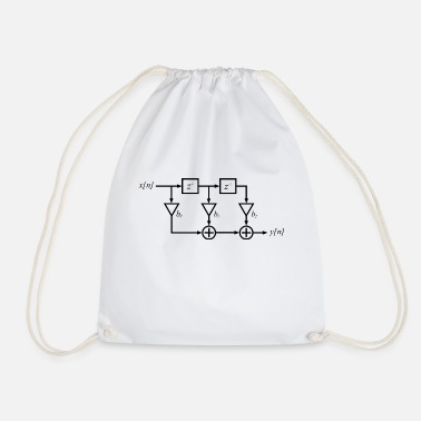 Engineer FIR filter digital signal processing - Drawstring Bag