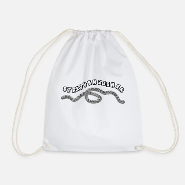 Stripper Stripper -blackwhitecontest- - Drawstring Bag