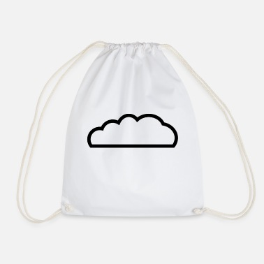 Cloud Cloud / cloud - Drawstring Bag