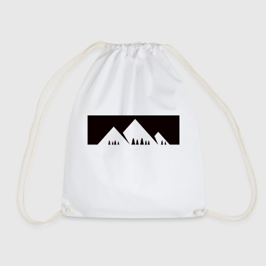 Mountains Alps Mountain hiking - Drawstring Bag