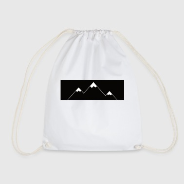 Mountains Alps Mountain peaks - Drawstring Bag