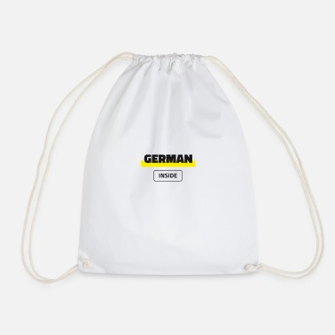German Inside - Drawstring Bag