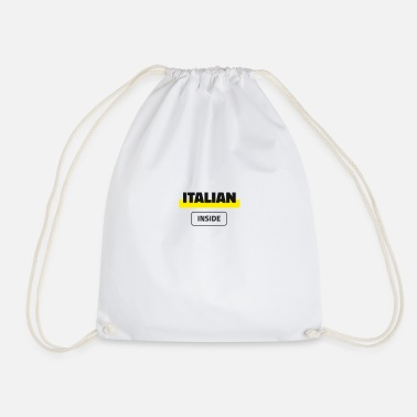 Italian Inside - Drawstring Bag