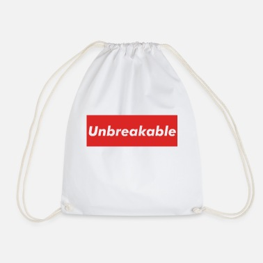 Unbreakable - Drawstring Bag