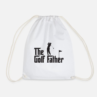 The Golf Father - Drawstring Bag