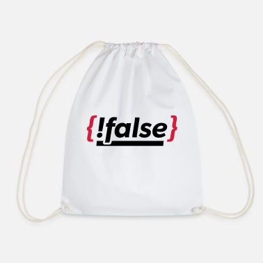 Program programming - Drawstring Bag
