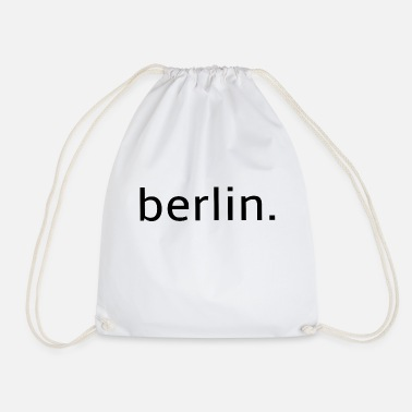 berlin - Germany - Holidays - Drawstring Bag
