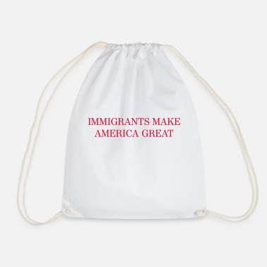 Fichissimo Immigrants make America GREAT - Sacca sportiva
