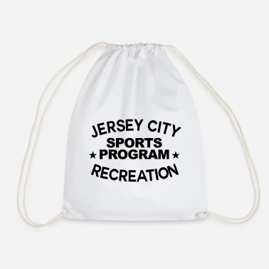 Recreational Jersey City Recreation Graphic - Drawstring Bag