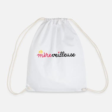 Motherly Love Mother's day word games motherly - Drawstring Bag