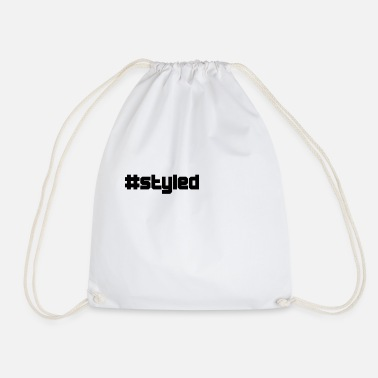 Style styled styled - Drawstring Bag