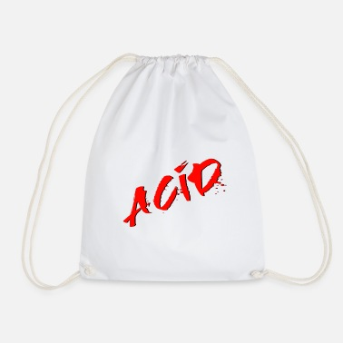 Acid Folk Acid - Techno - Acid House - Acid Rap - Drawstring Bag