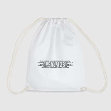 Bible Verse Psalm 23 Bible prayer Christians Bible verses - Drawstring Bag