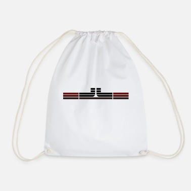 Horizontal LL horizontal - Drawstring Bag