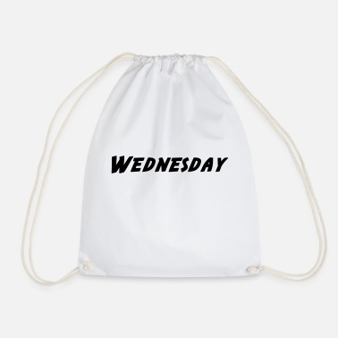 Wednesday Wednesday - Wednesday - Drawstring Bag