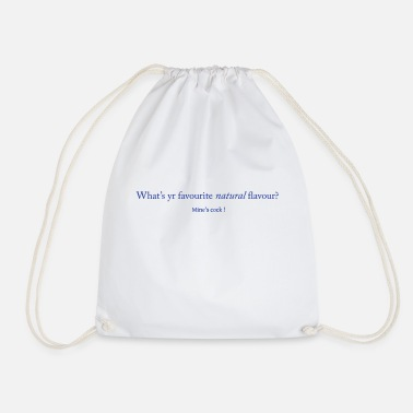 Favourite whats yr favourite ... - Drawstring Bag