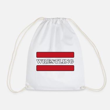 Wrestling Wrestling - Drawstring Bag