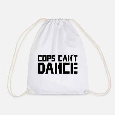 Cops Cops Can't Dance - Logo - Turnbeutel