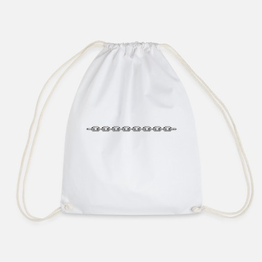 Chain Chain - Drawstring Bag
