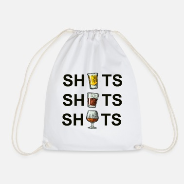 Shot SHOTS SHOTS SHOTS - Drawstring Bag