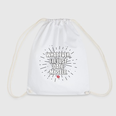 Single, Single, Single - Drawstring Bag
