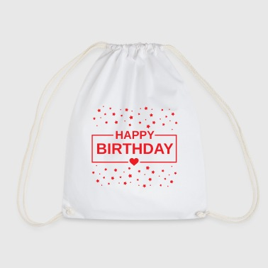 Happy Birthday Happy Birthday Happy Birthday - Drawstring Bag