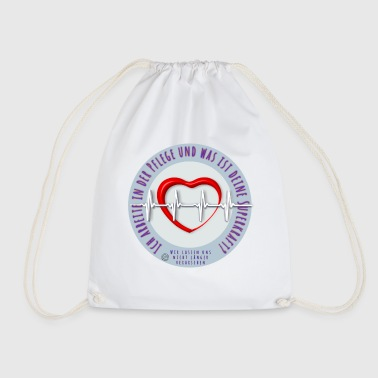 Nursing, Nursing, Nursing - Drawstring Bag