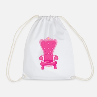 Throne throne - Drawstring Bag