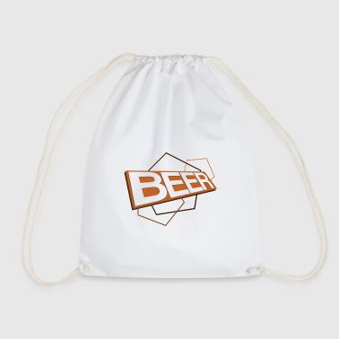 3D Bier Logo ORANGE - Sacca sportiva