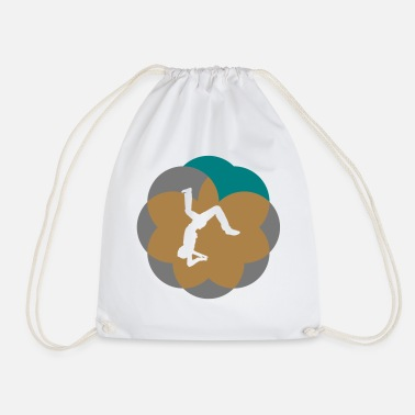 Salto salto jumping tricks - Drawstring Bag