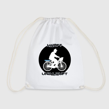 Runs and runs - Drawstring Bag