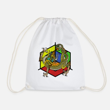 Mythical mythical creatures - Drawstring Bag