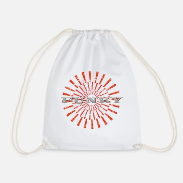Funky funky - Drawstring Bag