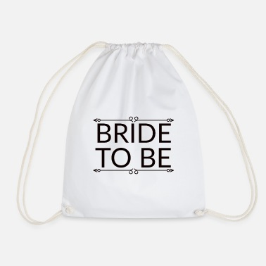 Hen Night bride to be, hen party for the bride - Drawstring Bag