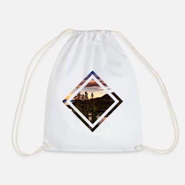 Quadrangles Vacation quadrangle - Drawstring Bag