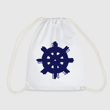 Steering Wheel Steering wheel - Drawstring Bag