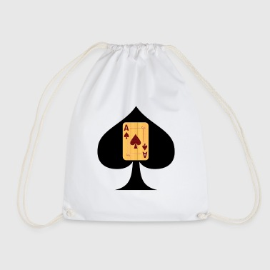 Ace-of-spades Ace of Spades - Drawstring Bag