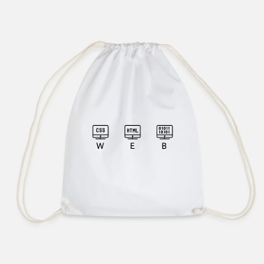 Web WEB - Drawstring Bag