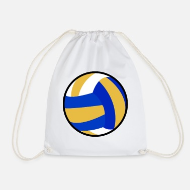 Beachvolleyball Idea regalo beachvolleyball giocatore di pallavolo - Sacca sportiva