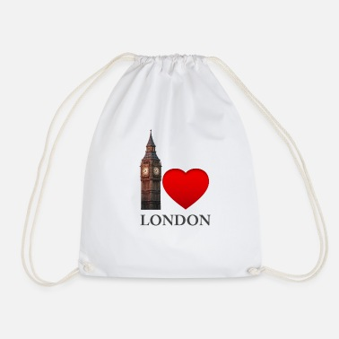 Big Love Love London - Big Ben- Colorido - Mochila saco
