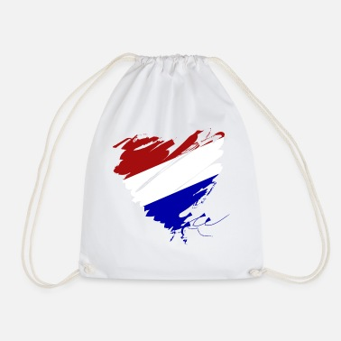 Its Good To Be The King Netherlands Holland Amsterdam Heart Europe Soccer - Drawstring Bag