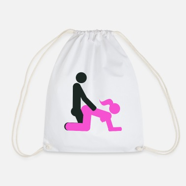 Sex Position Sex position doggy style - Drawstring Bag